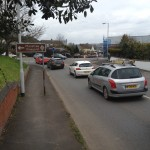 traffic alphington exeter